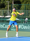 Davis filiżanka: Ukraina v Austria Fotografia Stock