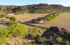 davis fortu historyczny krajowy miejsce zdjęcie royalty free