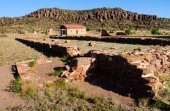 davis fortu historyczny krajowy miejsce obraz stock