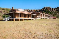 davis fortu historyczny krajowy miejsce fotografia stock