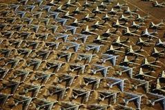 Davis Montham flygvapengrund. Royaltyfria Bilder