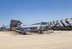 Davis-Monthan Air Force Base AMARG boneyard in Tucson, Arizona Stock Photo