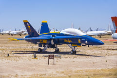 Davis-Monthan Luchtmachtbasis AMARG boneyard in Tucson, Arizona royalty-vrije stock fotografie