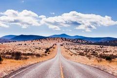 Davis Mountains High Desert Landscape le Texas Etats-Unis Photographie stock