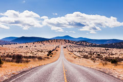 Davis Mountains High Desert Landscape Texas EUA Fotografia de Stock