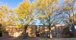 Davis Residence Hall an WFU Stockfoto