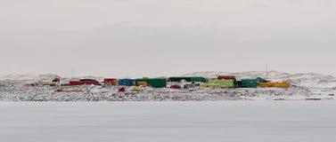 Davis Station, Australische Antarctische onderzoekbasis, Antarctica royalty-vrije stock afbeelding