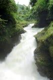 Davis waterfall in Phokara long exposure Royalty Free Stock Image