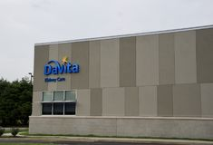 Davita dializy cynaderki opieki budynek fotografia royalty free