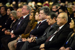 Davos Światowego Ekonomicznego forum coroczne spotkanie 2015 Zdjęcia Stock