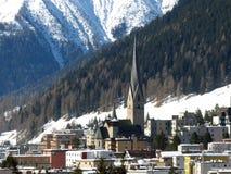 Davos Στοκ Φωτογραφία