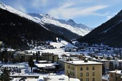 Davos stock afbeeldingen
