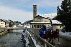 Davos royalty-vrije stock foto's