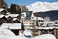Davos Stock Foto's