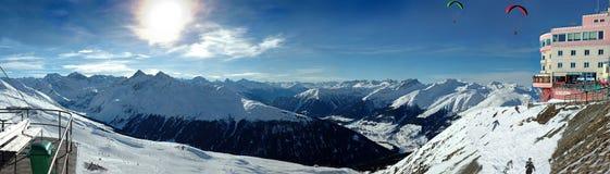 Davos Jackobshorn Images libres de droits