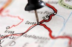 davos podróżować Szwajcarii Obraz Stock
