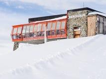 Weissfluhgipfel restaurant in Davos Royalty Free Stock Photography