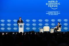 Davos World Economic Forum Annual Meeting 2015 Stock Photography