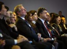 Davos World Economic Forum Annual-Vergadering 2015 Royalty-vrije Stock Foto's