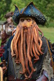 Davy Jones From Pirates Of The Caribbean Stock Photography