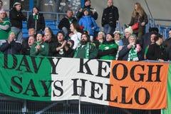 Davy Keogh dice hola Fotos de archivo libres de regalías