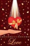 dawać ty miłości mój Fotografia Stock