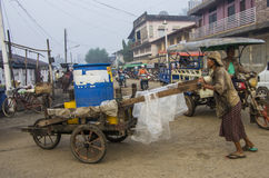 The Dawei morning fresh market. Royalty Free Stock Photos
