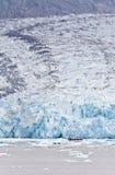 The Dawes Glacier. In the Endicott Arm of Alaska Stock Photos