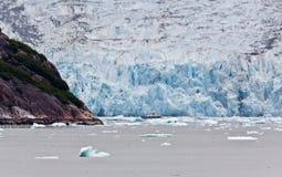 The Dawes Glacier. In the Endicott Arm of Alaska Stock Image