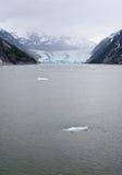 The Dawes Glacier. In the Endicott Arm of Alaska Stock Images