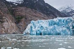 Dawes Glacier. The Dawes Glacier in the Endicott Arm of Alaska Royalty Free Stock Images