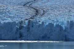 Dawes Glacier. Cruising through Endicott Arm to the Dawes Glacier in Alaska, USA Royalty Free Stock Image