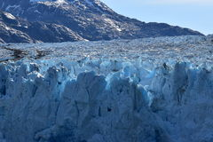 Dawes Glacier. Cruising through Endicott Arm to the Dawes Glacier in Alaska, USA Stock Images