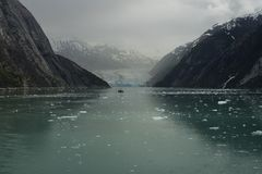 Dawes Glacier, Endicott Arm, ka Royalty Free Stock Photography