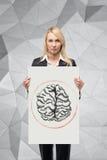 Dawing brain Stock Images