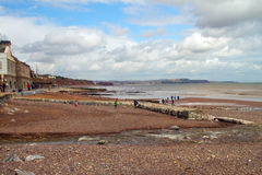 Dawlish beach Royalty Free Stock Images