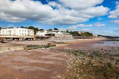 Dawlish Devon England UK. Summer overlooking the beach at Dawlish Devon England UK Europe stock image