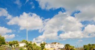 Dawlish et le grand ciel photos libres de droits