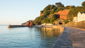 Dawlish Seafront Stock Images