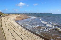 Dawlish Waren Beach, Devon stockbilder