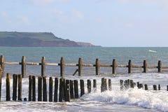 Dawlish Warren Beach, Devon Imágenes de archivo libres de regalías
