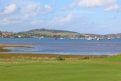 Dawlish Warren Golf Course Imágenes de archivo libres de regalías