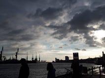 Dawn και θάλασσα Στοκ φωτογραφίες με δικαίωμα ελεύθερης χρήσης