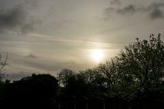 Dawn πέρα από το χειραμάξιο σε Furness Στοκ Εικόνα
