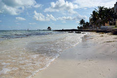 Dawn στην καραϊβική θάλασσα Στοκ εικόνες με δικαίωμα ελεύθερης χρήσης