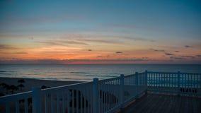 Dawn στην καραϊβική θάλασσα Στοκ Εικόνα