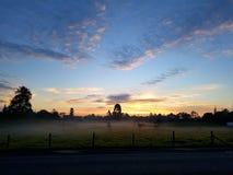 Dawn στην κοιλάδα στοκ εικόνες