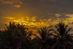 Dawn στην Κούβα Στοκ εικόνες με δικαίωμα ελεύθερης χρήσης