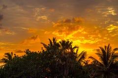 Dawn στην Κούβα Στοκ φωτογραφίες με δικαίωμα ελεύθερης χρήσης