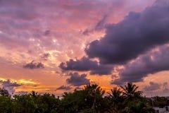 Dawn στην Κούβα Στοκ Εικόνα